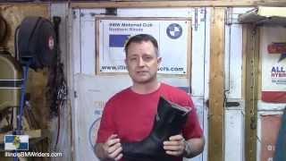 8. Daytona Roadstar GTX Motorcycle Boot User Review