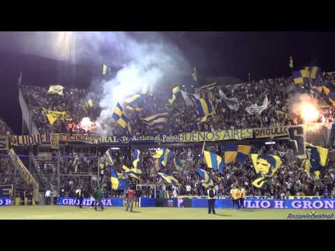 """Video - """"Recibimiento"""" Rosario Central (Los Guerreros) vs Colon - 2015 - Los Guerreros - Rosario Central - Argentina"""