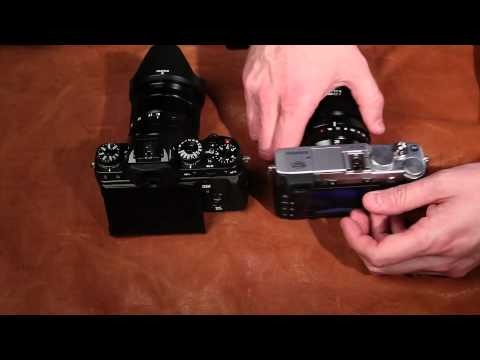Fujifilm X-T1 Review vs X-E2