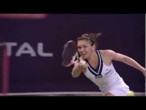 Simona Halep 2014 Qatar Total Open Hot Shot