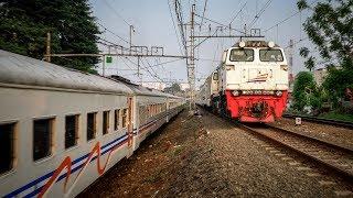 [Bugs] Ngabuburit Nonton Kereta Api Lewat Dekat Stasiun Jatinegara 6 Juni 2017 (Kompilasi)