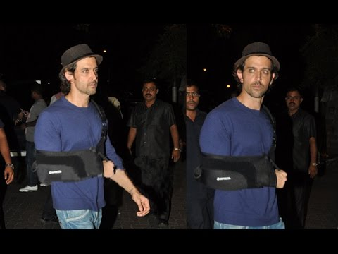Hrithik Roshan Out Of Action For Three Weeks - BT