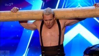 Video Britain's Got More Talent 2017 Dennis the Ukrainian Strongman Full Clip S11E05 MP3, 3GP, MP4, WEBM, AVI, FLV Oktober 2018