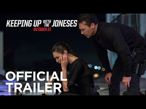 Keeping Up With the Joneses Official Trailer