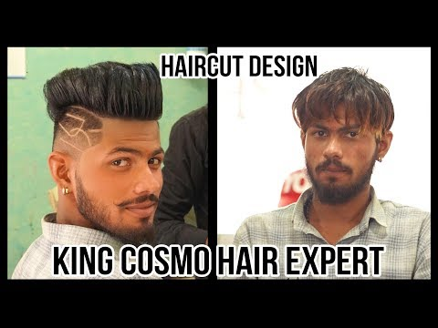 Mens hairstyles - Haircut Designs And Ideas For Men 2018  Haircut Tattoo Design For Men  King cosmo hair expert