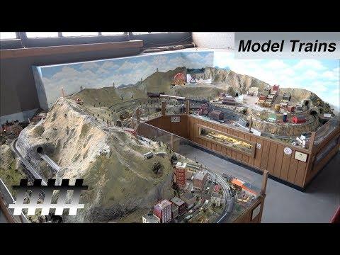 O Scale Model Trains Layout at the Roanoke Virginia Museum of Transportation in Roanoke, VA
