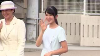 Video 皇太子ご一家、奈良へ 清楚でかわいらしい愛子さま   橿原神宮前駅 2016.7.21 MP3, 3GP, MP4, WEBM, AVI, FLV Juli 2018