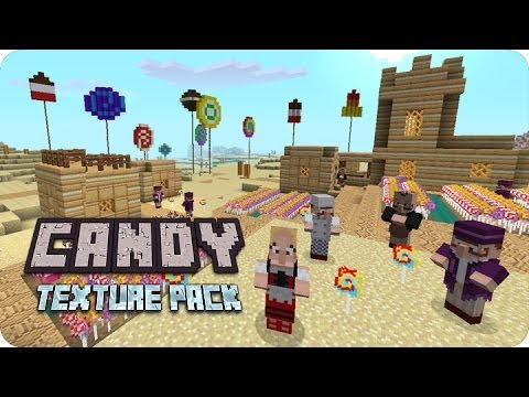MineCraft Xbox360 PS3 - Review Candy Texture Pack