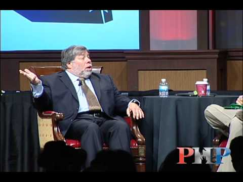 steve wozniak - PHP founder Patrick Bet-David hosts a 60-minute interview with Apple co-founder Steve Wozniak at the PHP Bowl -- the annual sales conference for People Helpi...