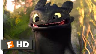 Video How to Train Your Dragon - Making Friends With A Dragon Scene | Fandango Family MP3, 3GP, MP4, WEBM, AVI, FLV Juni 2019