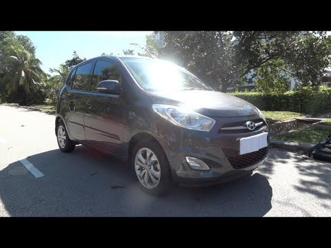 2012 Hyundai i10 1.25 Kappa CVVT High Spec Start-Up and Full Vehicle Tour