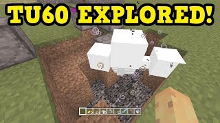 Minecraft Xbox One / PS4 TU60 New Features Explored!