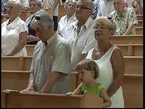 2017-08-06 Vasárnapi szentmise a Gazdagréti Szent Angyalok Plébánián