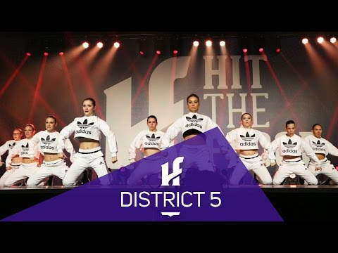 DISTRICT 5   Finalist - Hit The Floor Lévis #HTF2016