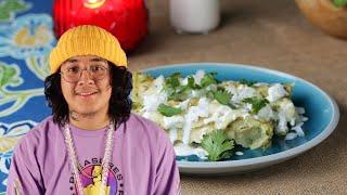 Enchiladas Verdes Con Pollo As Made By Cuco •Tasty by Tasty