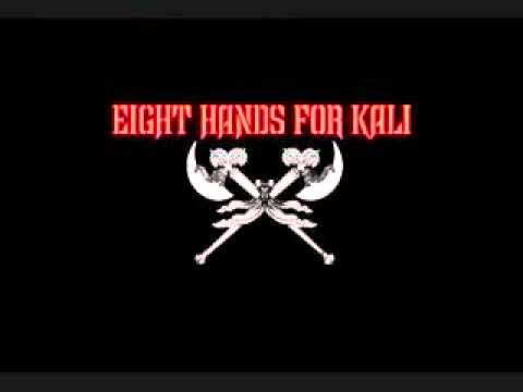 Eight Hands For Kali - Left Handed and Blood Red online metal music video by EIGHT HANDS FOR KALI