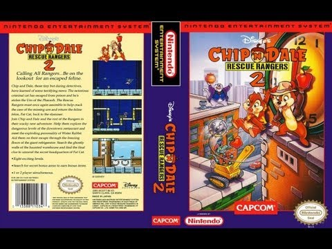 chip and dale rescue rangers 2 nes