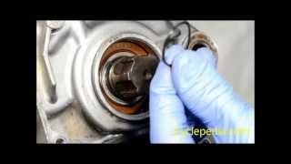 3. Kawasaki Super Sherpa counter shaft seal Replacement