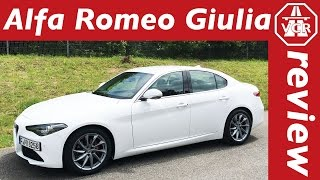 2016 Alfa Romeo Giulia Super - In Depth Review, Full Test, Test Drive by Video Car Review