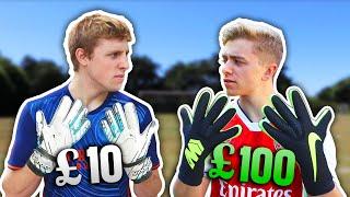 Video £10 Goalie Gloves Vs. £100 Pro Goalie Gloves | ft. W2S MP3, 3GP, MP4, WEBM, AVI, FLV Februari 2019