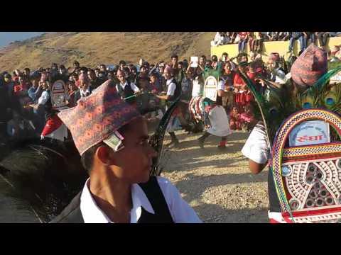 mayur yuba culab / mayur nach rungha मयुर युवा कलब रुघाको मयुर नाच top group dance of Nepal v by dev