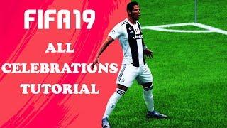 Video FIFA 19 ALL CELEBRATIONS TUTORIAL | Xbox & Playstation | 4K Ultra HD MP3, 3GP, MP4, WEBM, AVI, FLV Oktober 2018