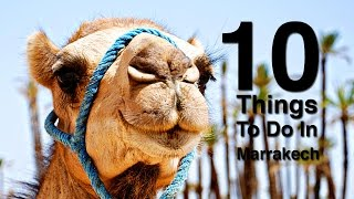 Marrakech Morocco  city photo : 10 Things To Do In Marrakech Morocco