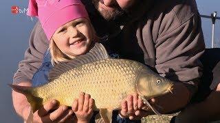 Děti rybařily na Křemačáku