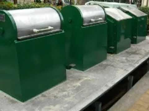 Επίδειξη συστήματος υπόγειων κάδων - Πλατεία Αγ. Λαζάρου