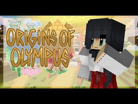 "Minecraft Origins of Olympus - ""Welcome to Camp Oasis""  #1 (Minecraft Percy Jackson Roleplay)"