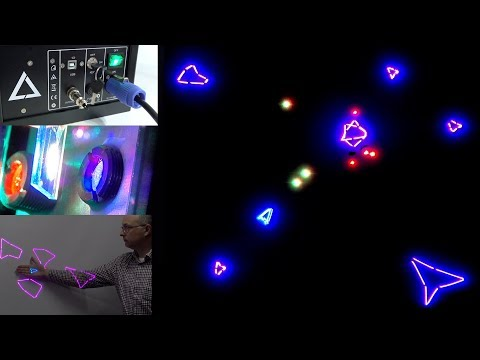 Laser Games - Like a giant colour Vectrex that can blind you