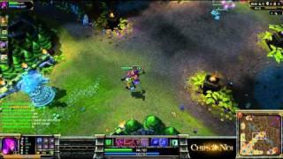 (HD045) 5c5 Morgana solo queue Top ELO EU - part 1 - League Of Legend Replay [FR]