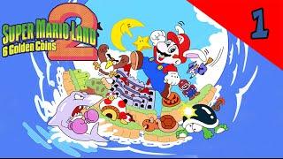 Let's Play Super Mario Land 2: 6 Golden Coins Episodio 1 Inizia La Seconda Avventura In Bianco E Nero! 60! 720p 16:9 Versione del Visual Boy Advance usata: h...
