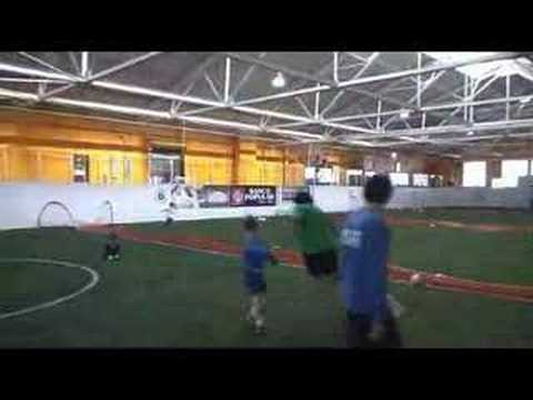 An indoor soccer surprise in Pilsen