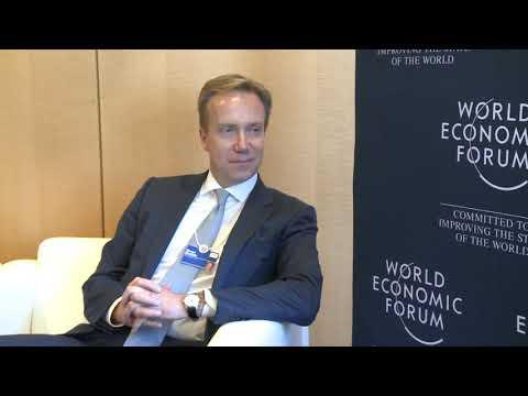 Șeful statului a avut o întrevedere cu Președintele Forumului Economic Mondial