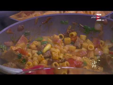 العرب اليوم - عمرو أديب يطبخ لأول مرة على الهواء مباشرة