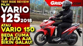 Video Honda Vario 125 2018 | Test Ride Review | GridOto MP3, 3GP, MP4, WEBM, AVI, FLV Juni 2019