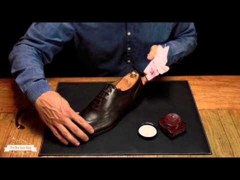 Anleitung: So putzen Sie Ihre Schuhe (basic)
