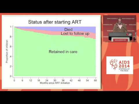 Retention across the continuum of care of HIV infected children in rural India