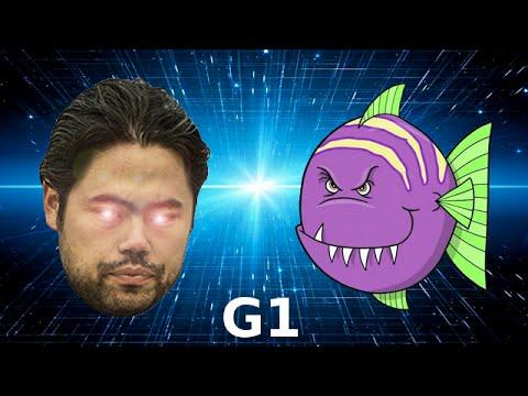 Hikaru Nakamura + Rybka vs Stockfish – Game 1 of 4