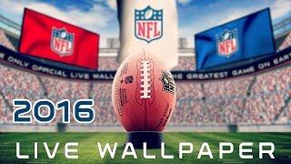 NFL 2015 Live Wallpaper YouTube video