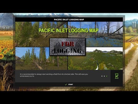 Pacific Inlet Logging Map