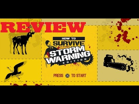How to Survive : Storm Warning Edition Xbox One