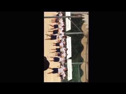 北九州市立花尾中学校体育大会2014ダンスアンコール