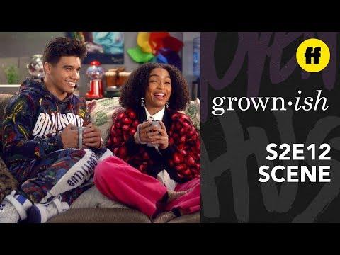 grown-ish Season 2, Episode 12 | Vivek Gives Zoey Friendship Advice | Freeform