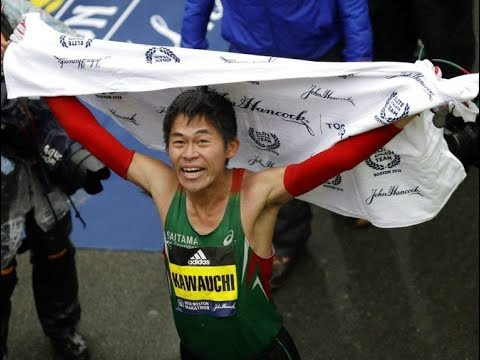 YUKI KAWAUCHI TRAINING FOR BOSTON MARATHON 2018