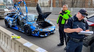 Video CANADIAN POLICE USE UNLAWFUL TACTICS ON LAMBORGHINI OWNERS! MP3, 3GP, MP4, WEBM, AVI, FLV Juni 2019
