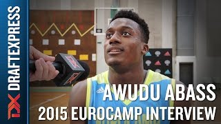 Awudu Abass Interview at the 2015 adidas EuroCamp