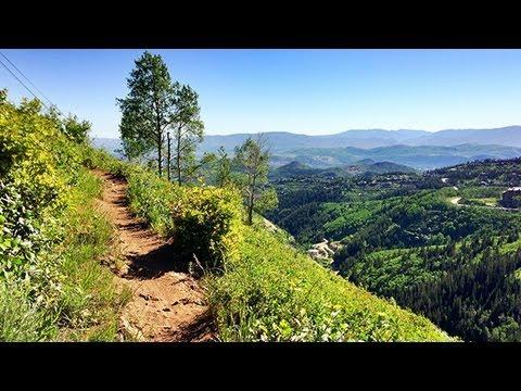 Mid-Mountain Trail Mountain Biking   Park City, Utah