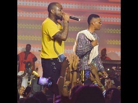 Wizkid & Davido Perform FIA On Stage #WizkidTheConcert